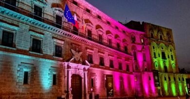 Malattie Rare: a Palermo s'illumina il Palazzo Reale
