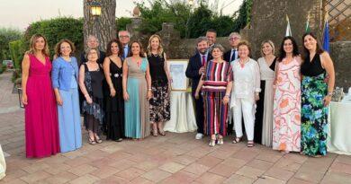 Passaggio di Campana al Lions Club Sant'Agata Li Battiati
