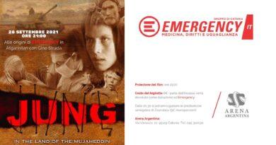 """""""Jung – Nella terra dei Mujaheddin"""" all'arena Argentina per sostenere Emergency"""